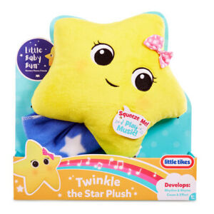 Little Tikes Soft Toy Little Baby Bum Twinkle Musical Plush Ages 6 Months +