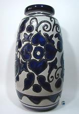 XXL Vase SCHEURICH Keramik Flower Fat Lava Decor WGP German Ceramik 60s H.55 cm