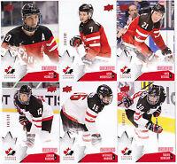 15-16 Team Canada Juniors Nick Ritchie /199 Red Exclusives Upper Deck 2015