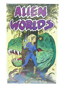 Alien Worlds #1 Eclipse Comics 1988 Fine Free Shipping