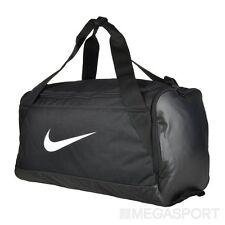 Nike Brazilia Piccolo Nero Borsa Sportiva Da Palestra Tutti Neri Borsone Sacca