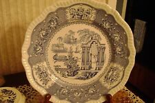 "SPODE 10"" Dinner Plate Blue Room Collection ""PAGODA"" Pattern FREE SHIPPING"