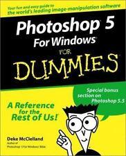 Photoshop 5 For Windows For Dummies McClelland, Deke Paperback