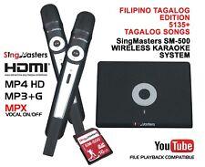 PHILIPPINES KARAOKE PLAYER SingMasters Magic Sing 5135 TAGALOG & 13K ENGLISH