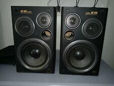 Aiwa SX-810 Pair Rare. Magnetic Shield Audiophile Bookshelf Speakers