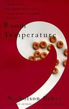 Room Temperature Baker, Nicholson Paperback