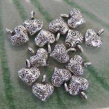 Two Pair Bead Pure Silver Thai Karen hill tribe