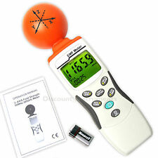 Digital Eloctrosmog Power EMF RF Field Strength Radiation Gauss Meter 3-Axis