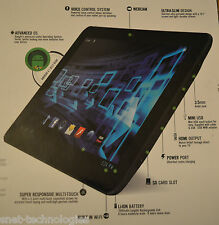 CnM Touchpad 7 inch 1.6GHz Dual Core Tablet BLACK FRONT & BACK CAMERA OS 4.1 8GB