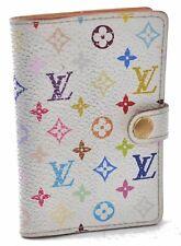 Louis Vuitton Monogram Multicolor Carnet De Bal Card Case White M92653 LV A7567