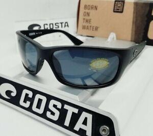 """COSTA DEL MAR blackout/gray """"JOSE"""" POLARIZED 580P sunglasses NEW IN BOX!"""
