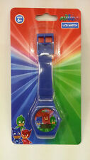 ENTERTAINMENT ONE PJ MASKS BLUE KID DIGITAL LCD WATCHES 100% ORIGINAL MUST L@@K