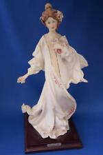 Capodimonte Piergianni Cedraschi Porcelain Figurine Lady with Flowers
