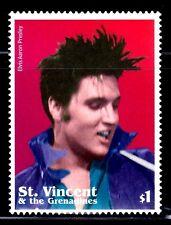 SELLOS TEMA CINE. ST. VICENTE GRANADINES 2002 4459. ELVIS PRESLEY 1v.