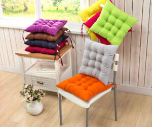 12 Colors 40x40cm Seat Cushion Pearl Cotton Chair Back Seat Cushion Sofa Pillow