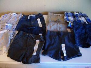 NWT Jumping Beans Boy's Shorts PUll On Elastic Waist Sizes 3M, 6M, 9M, 12M, 18M,