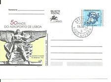Portugal 1992 - Postal Stationery 50 Years Lisboa Airport, Aeroporto cancel