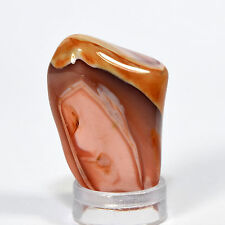 45ct Fortification Pink Botswana Agate Cabochon Pebble Natural Crystal Stone Cab
