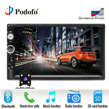 """Podofo Car Infotainment System 7"""" Bluetooth, Radio, iphone and Android car play"""