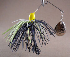 Bass Fishing Lure Spinnerbait DR Double Hook Single Spin (DHS-02)