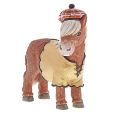 Border Fine Arts Country Couture Heather Highland Pony A29255 Figurine. New.