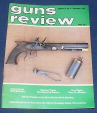 GUNS REVIEW MAGAZINE SEPTEMBER 1985 - KORTH REVOLVERS