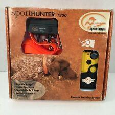 SportHunter 1200 Wireless Collar Remote Dog Trainer Training SportDog PetSafe
