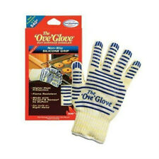 Slip Ove Glove A Pair Oven Hot Surface Handler BBQ Hold for Kitchen Microwave