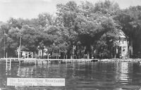 Real Photo Postcard The Lodge at Camp Kosciusko in Winona Lake, Indiana~121481