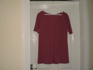 """Blouse""""Asos""""Maternity Colour Dirty Cherry Size: 14 ( UK ) Eur 42 New With Tags"""