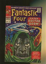 Fantastic Four 57 VG+ 4.5 * 1 Book * Dr. Doom! Inhumans! Stan Lee & Jack Kirby!