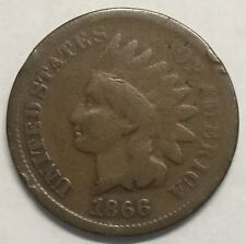 1866 1C Indian Cent #