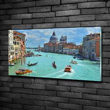 Glas-Bild Wandbilder Druck auf Glas 120x60 Sehenswürdigkeiten Venedig Italien