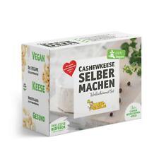 Veganen Cashew Weißschimmel-Keese selber machen Set (Käse Alternative)
