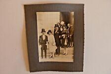 Photo année 1930 mariage  N/B Sortie d'église Département La Guerche 18  222/06