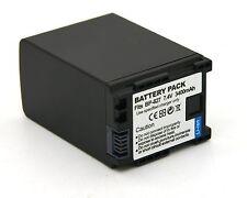 Decoded Battery for BP-827 Canon VIXIA HF10 HF100 HF11 HF20 HF200 HF21 HG20 HG21