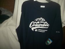 Columbia Sportswear Thermal Navy Omni Wick Sz. 3X/3Tf / New With Tags