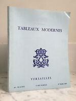 Catálogo De Venta Pizarras Moderno Versailles 27 Mars 1977