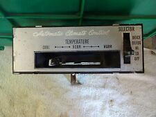 1968 Buick Riviera GS Electra 225 LeSabre Wildcat Automatic Climate Controller
