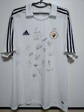 SIZE L Djurgarden 2008-2009 SIGNED Away Football Shirt Jersesey