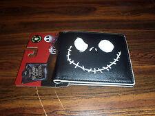 Nightmare Before Christmas Jack Leather Wallet - Bi-Fold Jack GLOW IN THE DARK