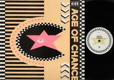 """AGE OF CHANCE Kiss  12"""" Ps, 3 Tracks, Kiss/Kiss-Collision Cut/Crash Conscious, A"""