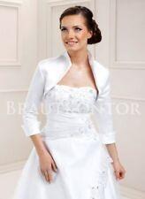 Braut-Jacken & Stolen aus Satin Größe 42