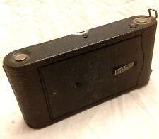 Kodak No. 3A 3-A Autographic Model C 122 Film Folding Camera w/ 170mm F7.7 Lens