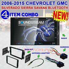 2006-2015 CHEVROLET GMC SILVERADO SIERRA SAVANA 2-DIN USB Bluetooth CAR Stereo