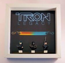 Lego Minifigures Display Case Frame Tron Legacy Ideas mini figures Minifigs