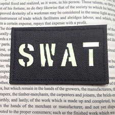 GLOW Reflect IR Military SWAT ARMY Tactical  AIRSOFT HOOK PATCH