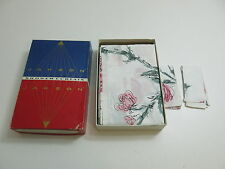 VINTAGE NOS / NEW CA. 1960'S - 1970'S JAKSON SHOWER CURTAIN WITH FLOWERS (MELODY