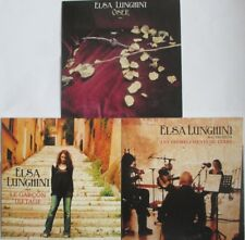 ELSA LUNGHINI - 3 CD SINGLES PROMO COMME NEUFS - PORT COMPRIS - À SAISIR !