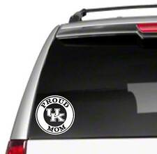 "UK Mom 5.5"" Car Vinyl Sticker Decal university proud wildcat kentucky fan *B39*"